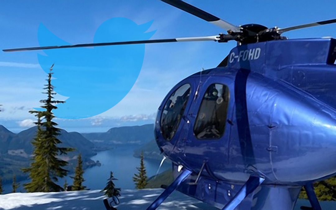 Oceanview Helicopters is now on Twitter